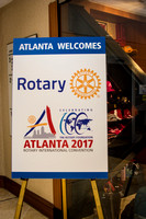 Rotary International Conference, Atlanta 6-8-17